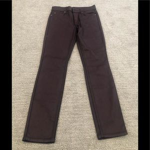 7 for  all mankind  burgundy jeans in size 27